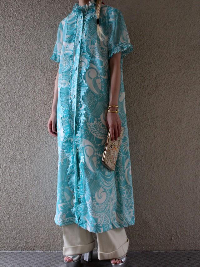 60's cotton dress