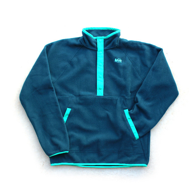 REI Pullover Half-Button Fleece