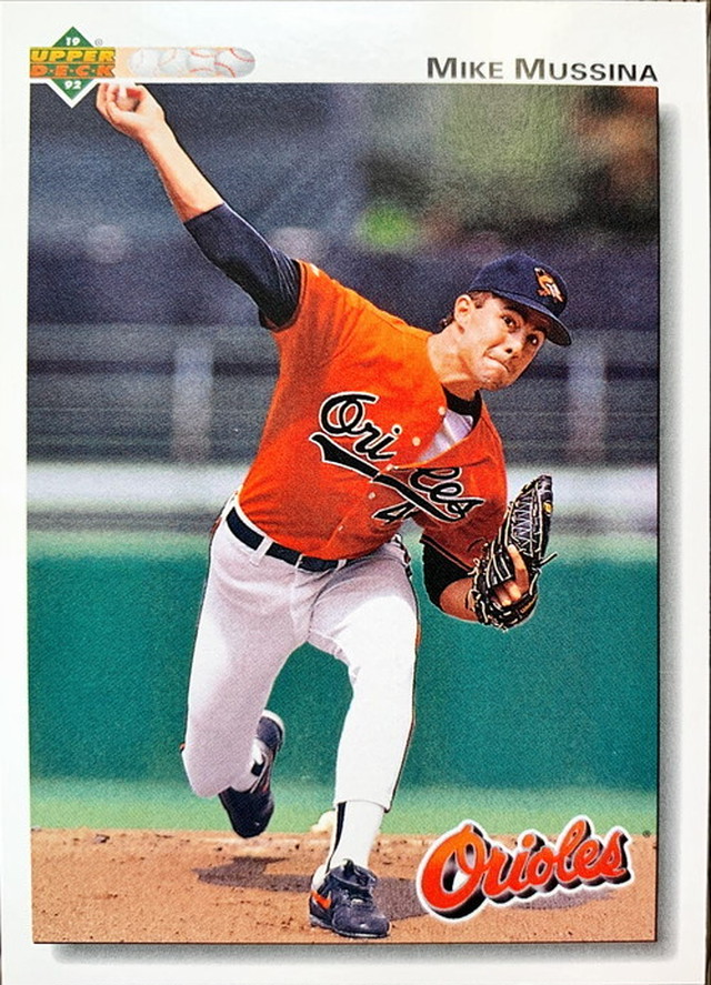 MLBカード 92UPPERDECK Mike Mussina #675 ORIOLES