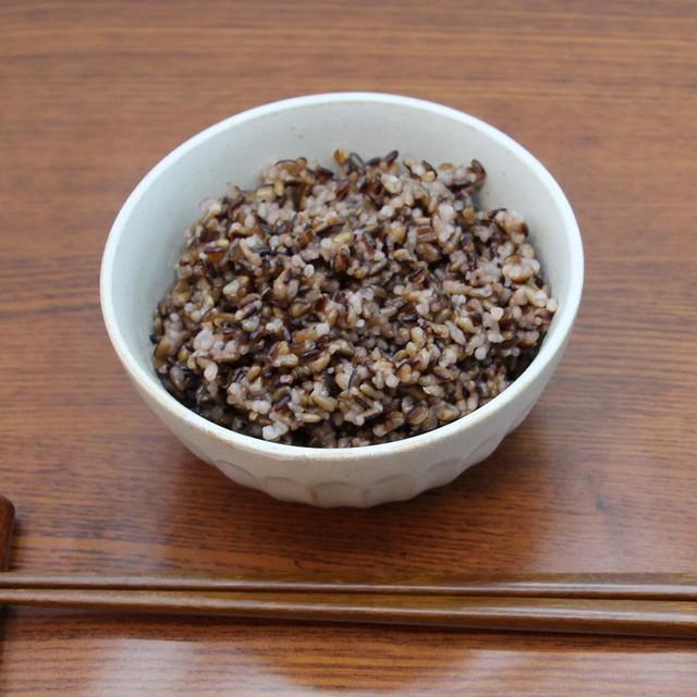 つくば生まれのおいしい黒米「美食同玄米」高圧加工玄米ごはん 8個セット