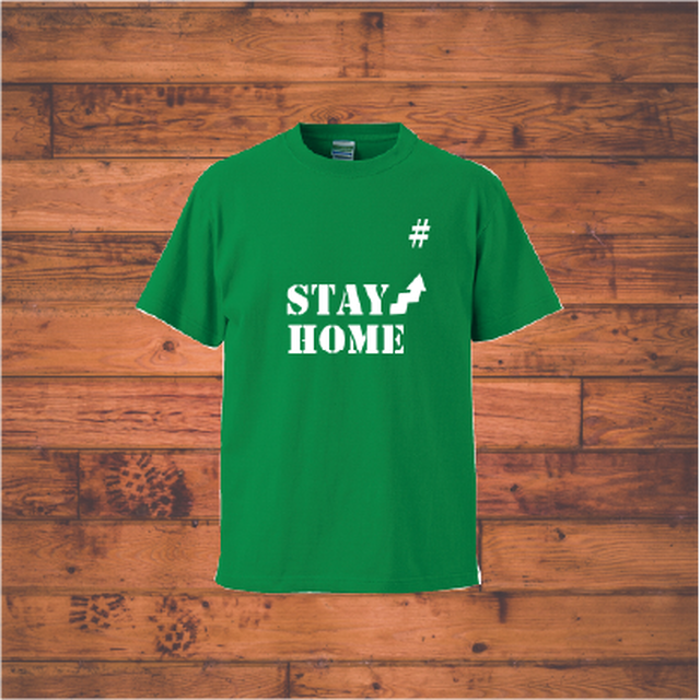 stay home Tシャツ