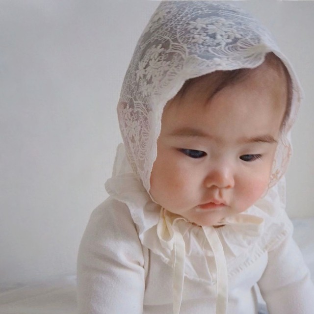 lace bonnet (レースボンネット/リボン&フラワー) type A:PCH03MJX9013035_425