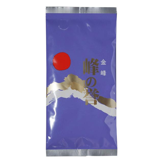 お茶 緑茶 お茶の葉 峰の誉 紫 100g 3袋 鹿児島 小牧緑峰園
