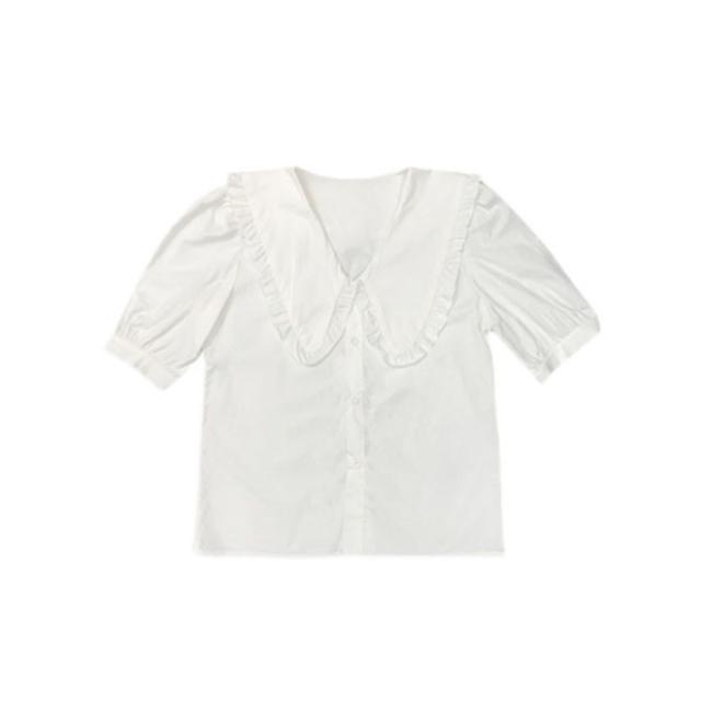 BIG colour white shirt