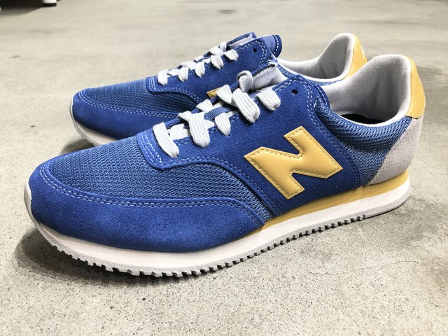 NEW BALANCE MLC100CF (BLUE/YELLOW)