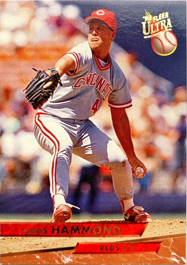 MLBカード 93FLEER Chris Hammond #029 REDS
