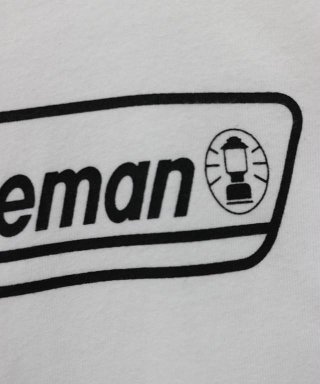 《Coleman》 ベーシックロゴロングT