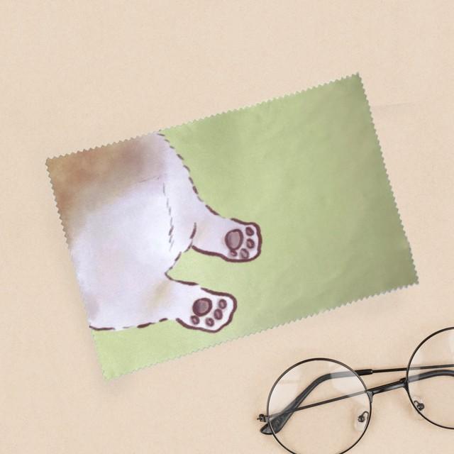 コーギーのおしりメガネふき