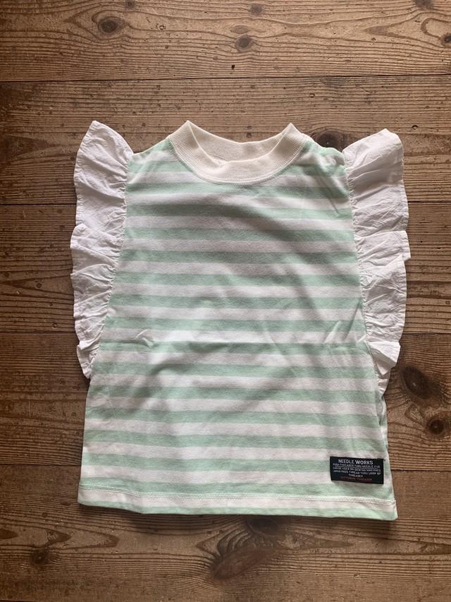 KIDS:NEEDLE WORKS:t/c ロマンティックTシャツ  100-150㎝