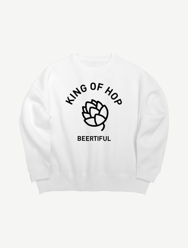 【KING OF HOP】ビッグシルエットスウェット