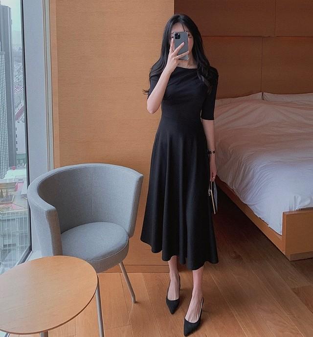 paris lady dress 2color
