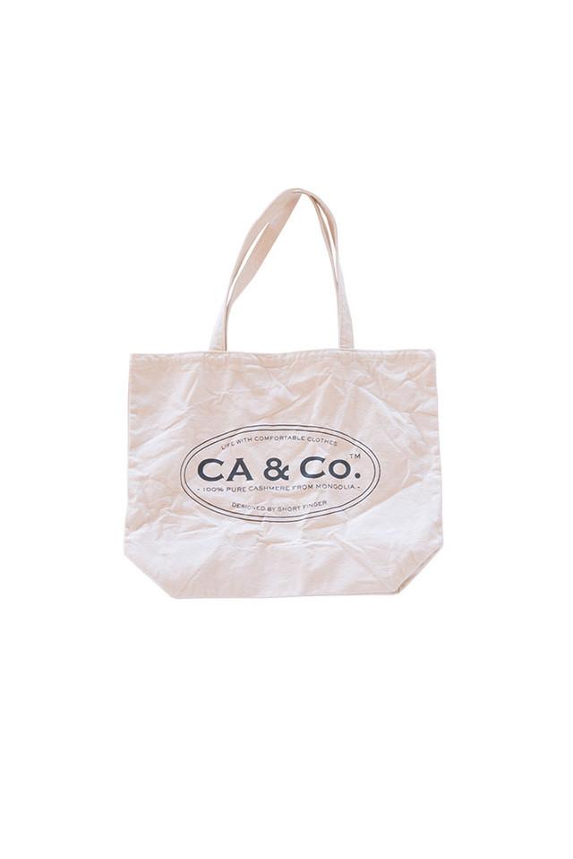 CA & Co. / コットントートバッグ(ナチュラル)