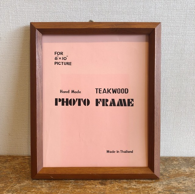 TEAK WOOD FRAME【ph1333b】