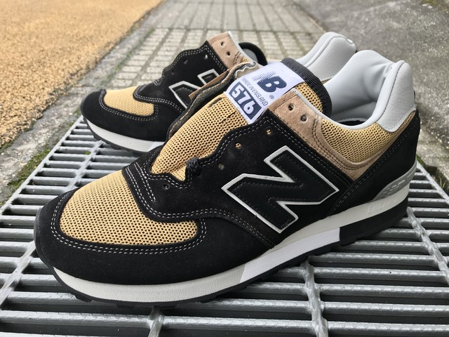 NEW BALANCE OM576OKT (BLACK/TAN)