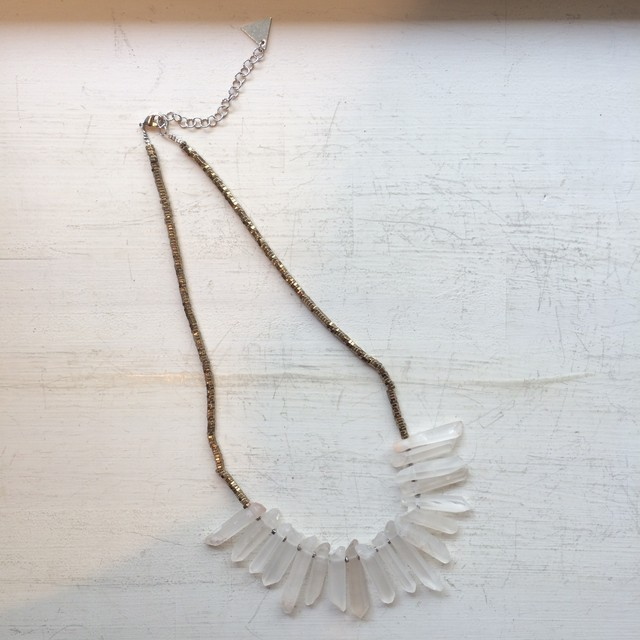 Selefina Cristal Necklace
