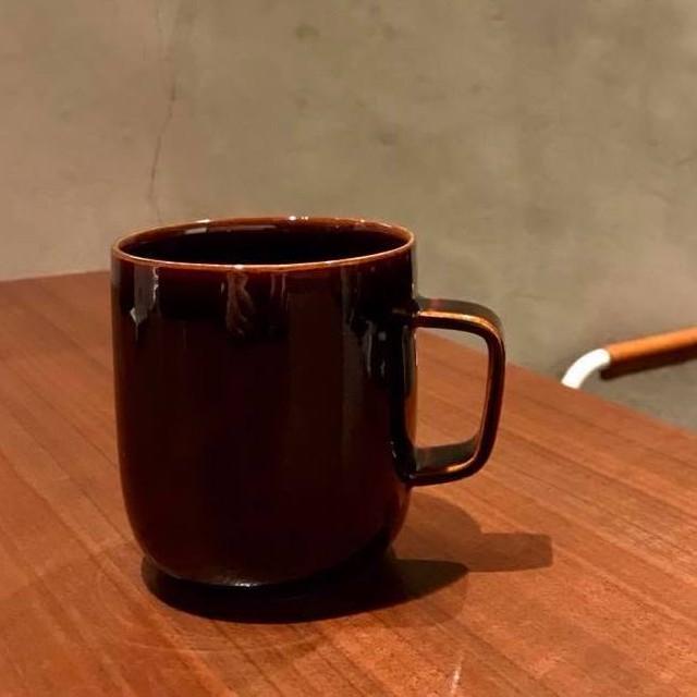 洛色MUG〈色名:夕照の塔〉京焼・清水焼をモダンに愉しむオリジナルマグカップ(化粧箱入)