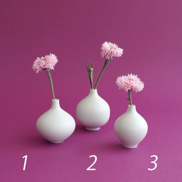 ミニ花瓶 1 2 3【studio wani】