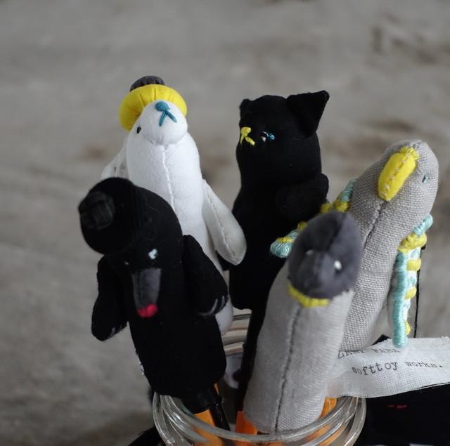 パペット Curious animals / ZANY FABA