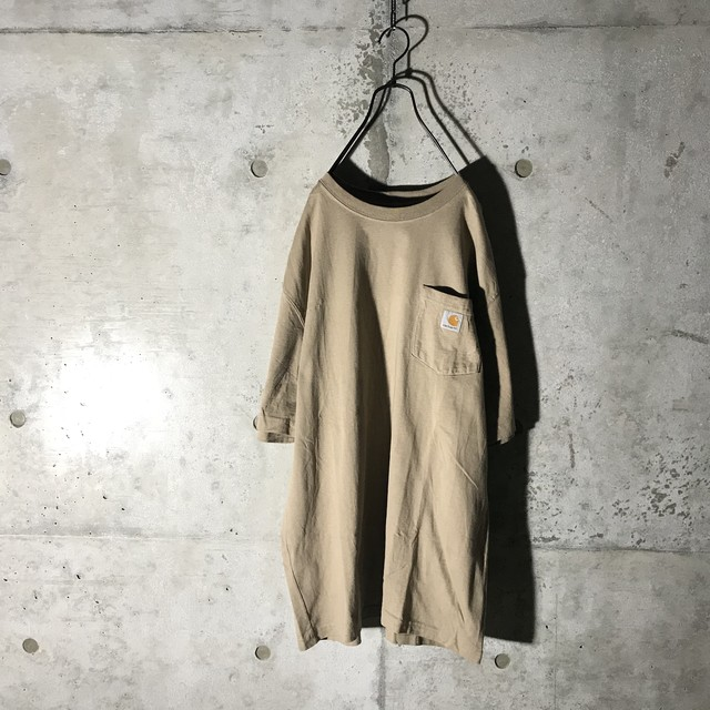 [Carhartt]like sand color T shirt