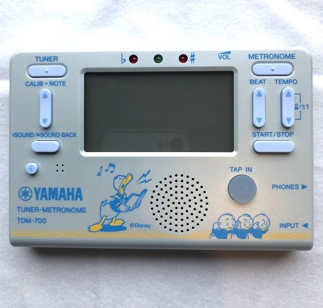 YAMAHA(ヤマハ)/TDM-700DD2 ドナルドダック チューナー メトロノーム