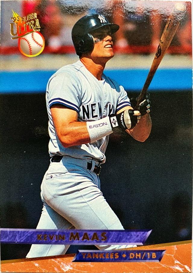 MLBカード 93FLEER Kevin Maas #243 YANKEES
