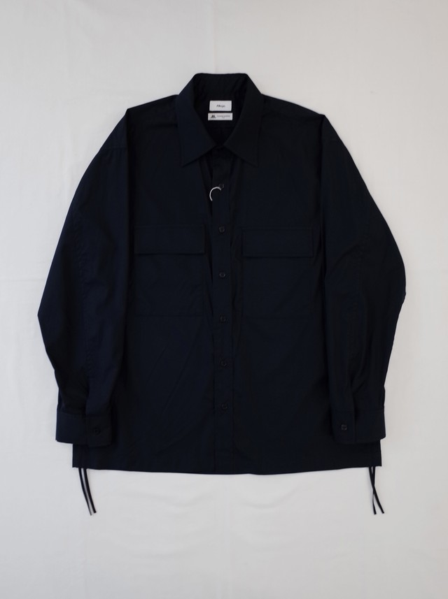 【ALLEGE.】wpocket gather shirt