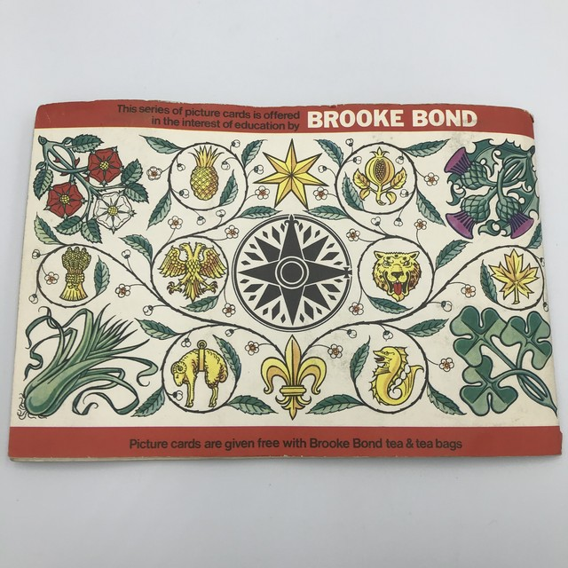Vintage ピクチャーカードセット 1960年代 (FLAGS&EMBLEMS)