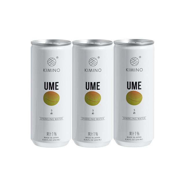 【SET】KIMINO UME Sparkling Water ×30