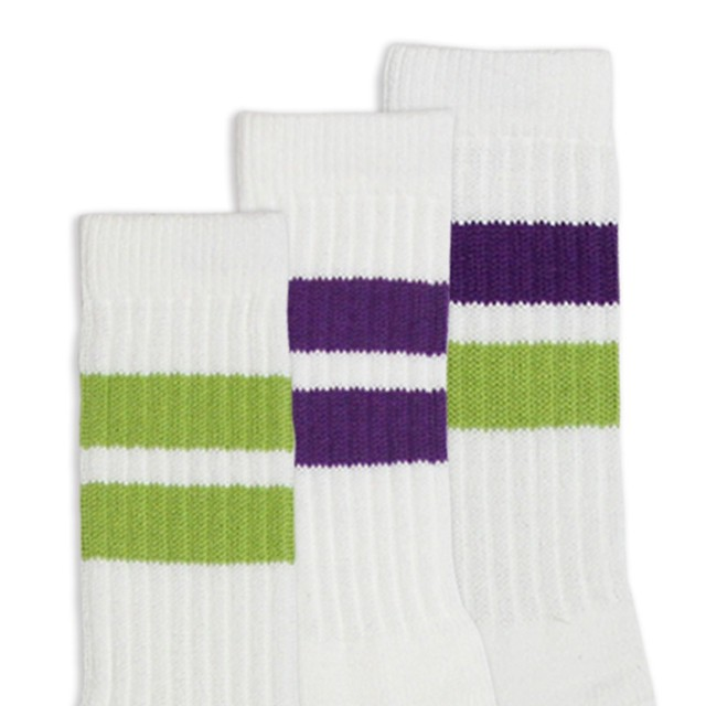 ALL GOOD STORE | SUBWAY LINE COTTON SOCKS | 3pcs VALUE PACK