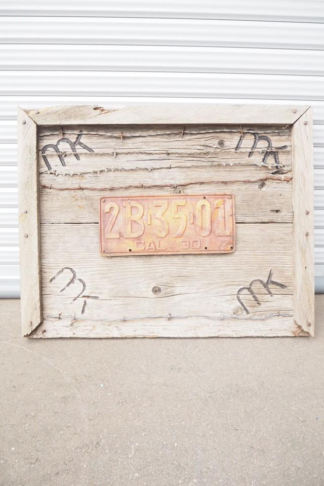 品番37172 ライセンス プレートアート