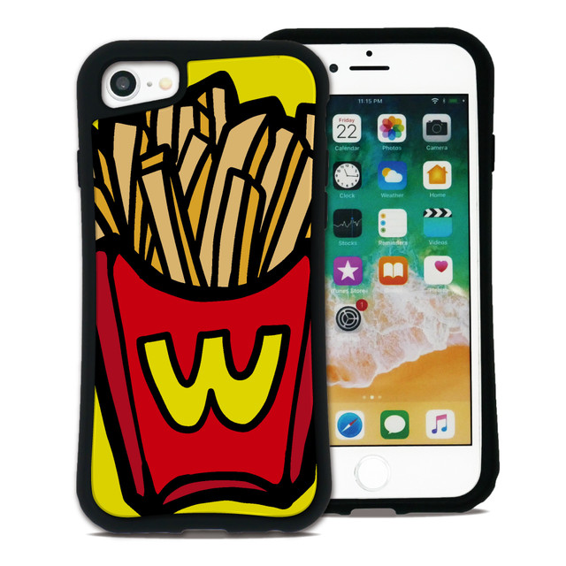 ポップフード ポテト セット WAYLLY(ウェイリー) iPhone 11 pro max 8 7 XR XS X 6s 6 Plus XsMax対応!_MK_