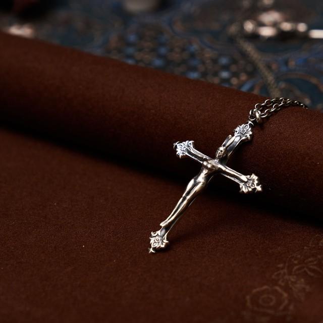 Crucifixion on the bunny girl cross