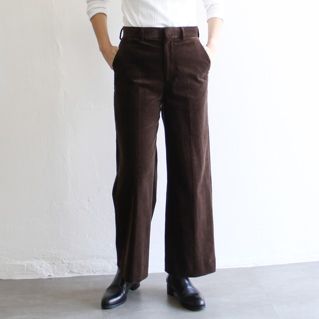 UNION LAUNCH  【 womens 】silk stripe skirt