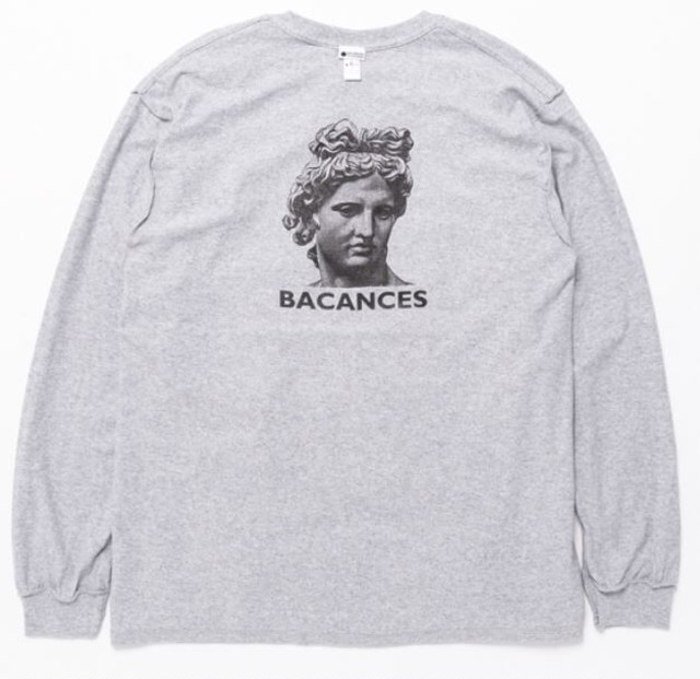 BACANCES ALL LOVE LONG SLEEVE TEE GRAY