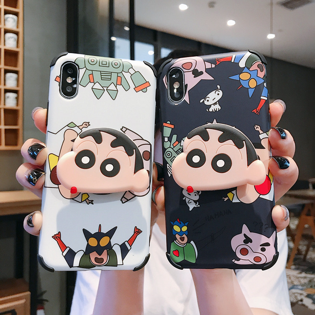 【オーダー商品】 Black&Red love heart iphone case