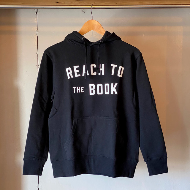 プルオーバーパーカ / REACH TO THE BOOK / Black