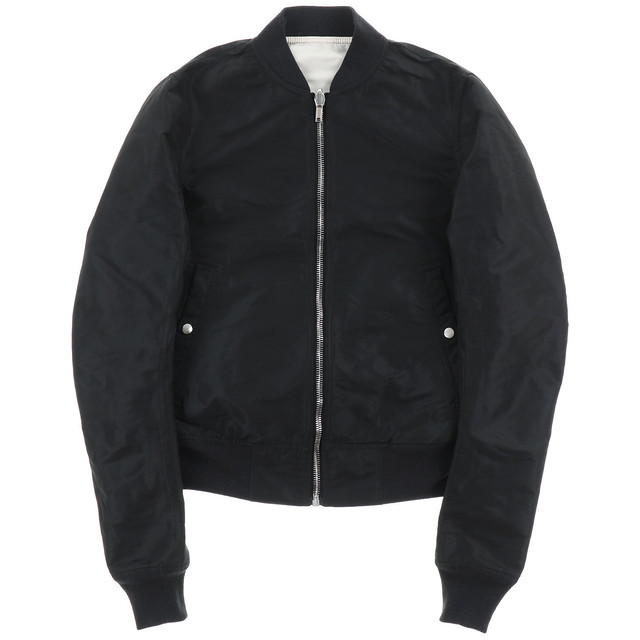 Rick Owens REVERSIBLE CROPPED FLIGHT BOMBER