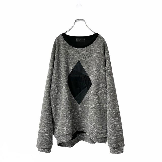 Panel-Sweatshirts (grey)
