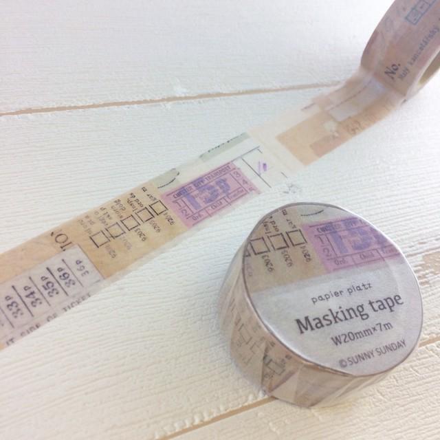 37-636 SUNNYSUNDAY マスキングテープ