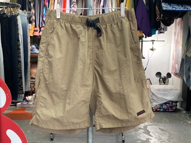 GRAMICCI SHELL PACKABLE SHORTS ASIA M BROWN GMP-20S1452 5KF6599