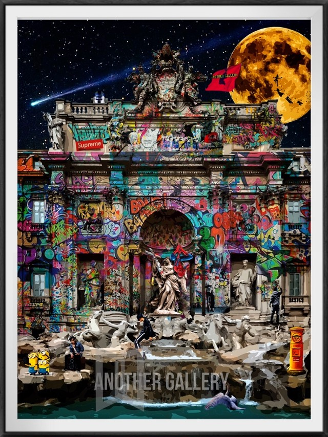 【Limited1】Moonlit night of graffiti~S