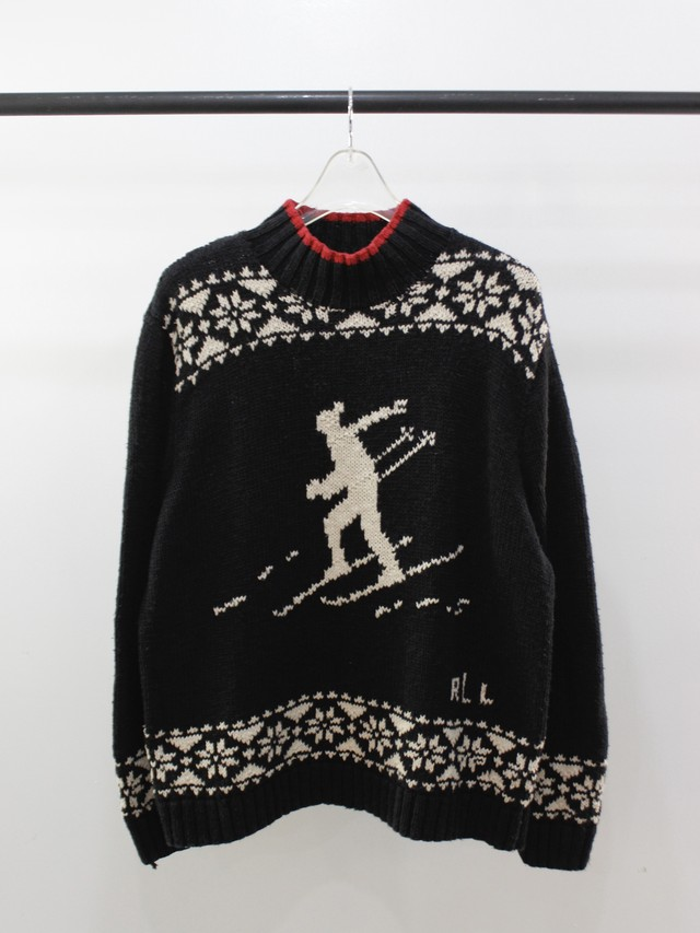 Used RALPH LAUREN EXALUSIVE HAND KNIT
