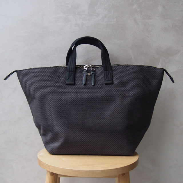CaBas N°32-Bowler bag medium Gray/Black