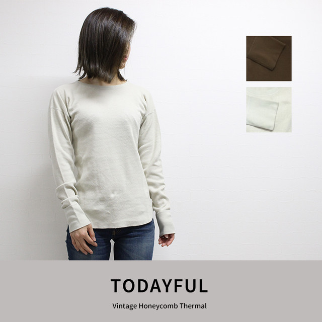 TODAYFUL | Vintage Honeycomb Thermal 11820643