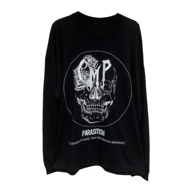Parasitism♯2 オーバーサイズL/S Tシャツ