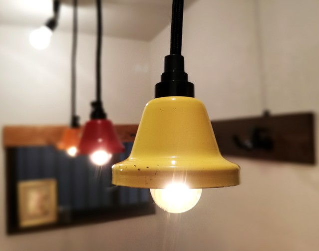 Pendant Light「Music Bell」Yellow