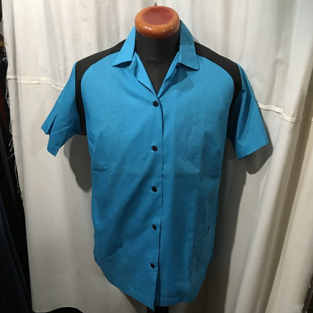 70's vintage Hilton ヒルトン ボウリングシャツ レディース38