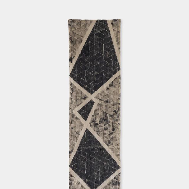 Shiori Mukai Textile 021 向井詩織 ブロックプリント 約36×190cm