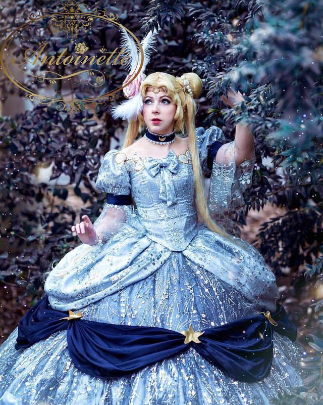 【完全オーダーメイド】豪華絢爛 ゴージャス ギャラクシー キラキラ宇宙ドレス 宇宙柄 星柄 ウェディング aライン 結婚式