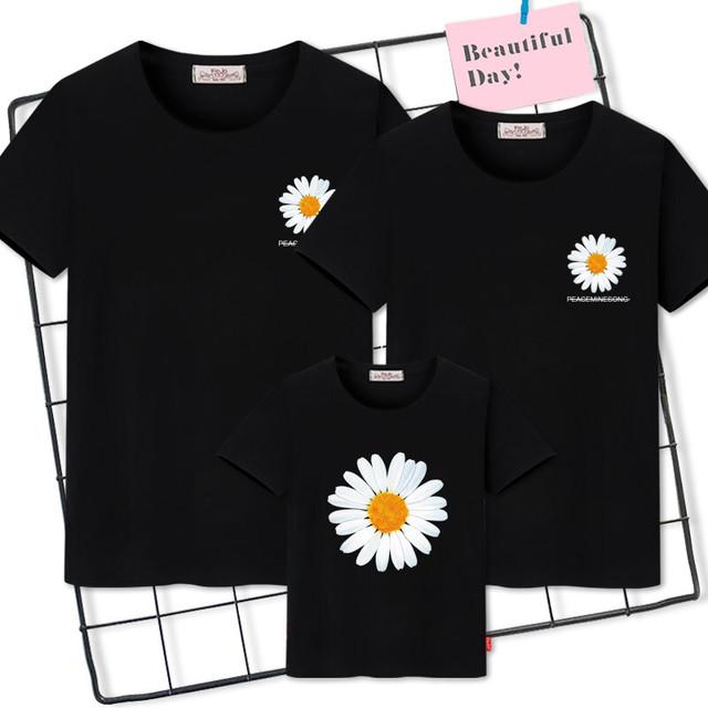 Douyinネットセレブ別親子ウェアサマービーチビーチTシャツ3つの大きなサイズの家族の半袖ファミリーウェア 大きめサイズ 夏物 feja旗舰店 feja旗舰店90787921649